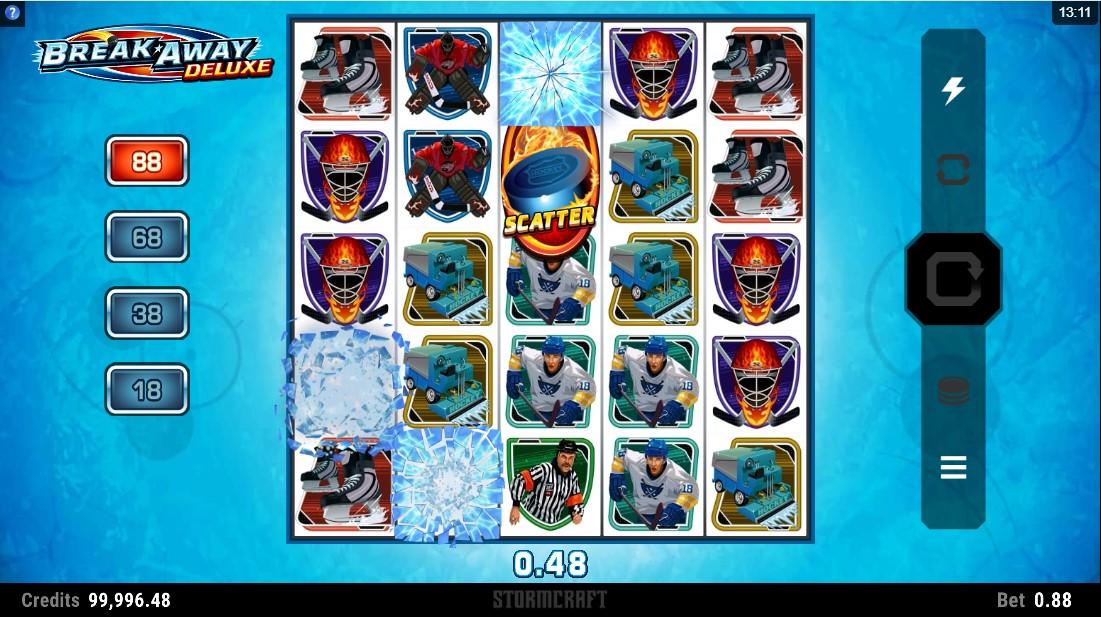 Бесплатный игровой автомат Break Away Deluxe