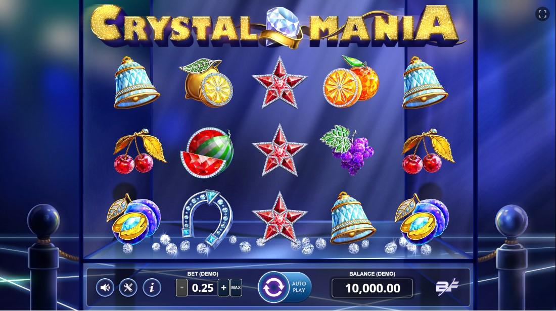 Онлайн слот Crystal Mania