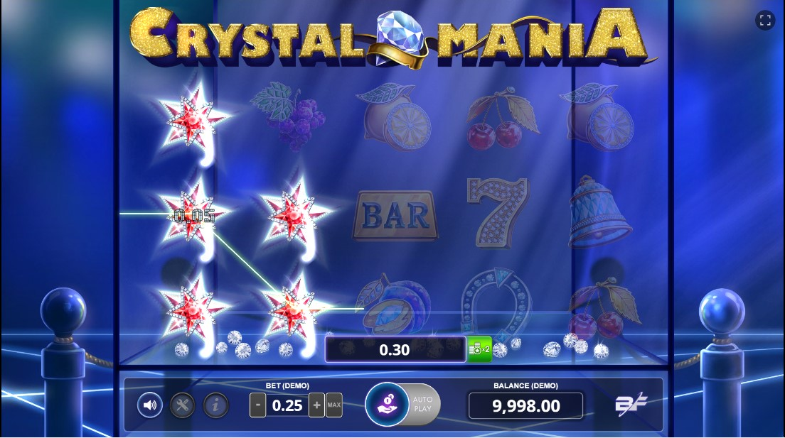 Играть бесплатно Crystal Mania