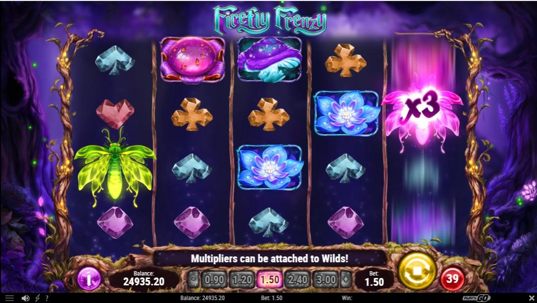 Играть Firefly Frenzy без регистрации