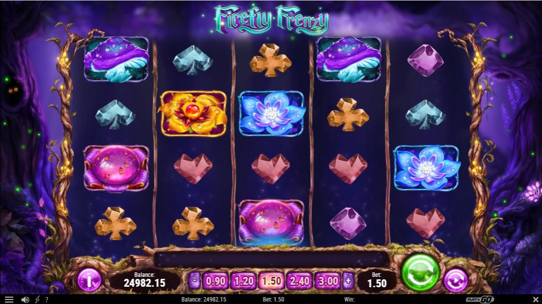 Firefly Frenzy онлайн игровой автомат