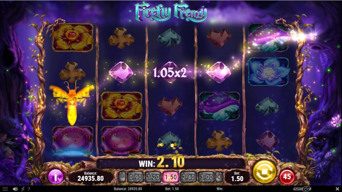 Бесплатный слот Firefly Frenzy