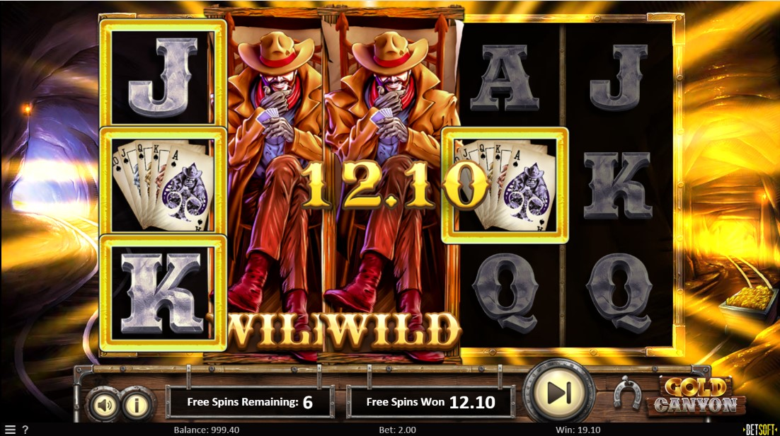 Игровой автомат Gold Canyon