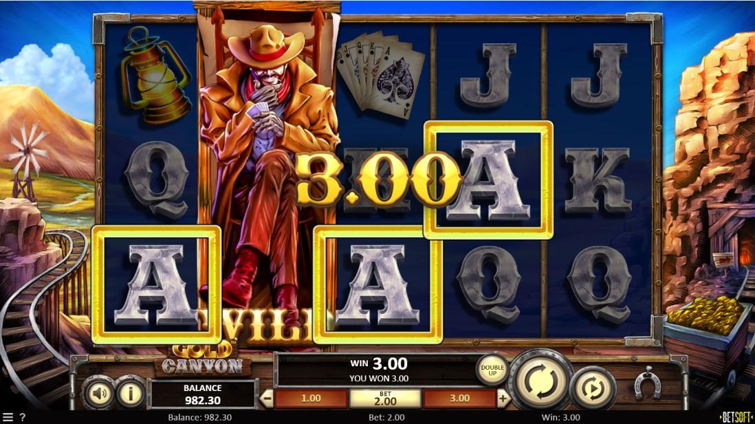 Бесплатный игровой автомат Gold Canyon