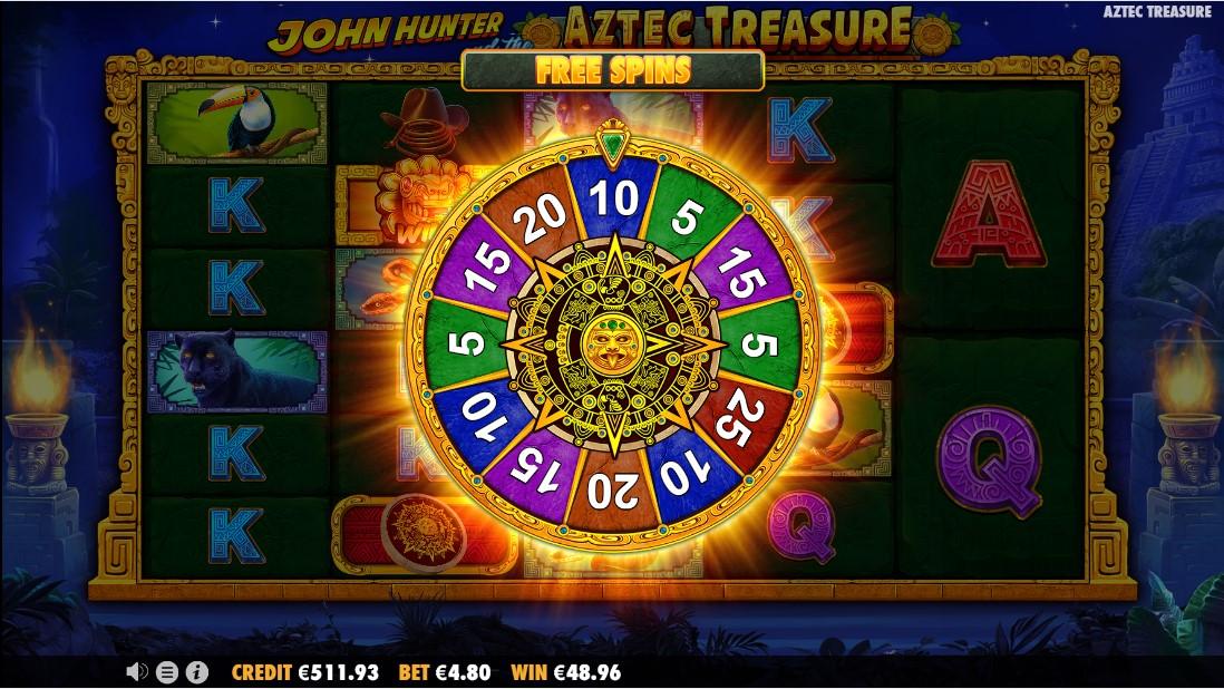 Онлайн слот John Hunter and the Aztec Treasure