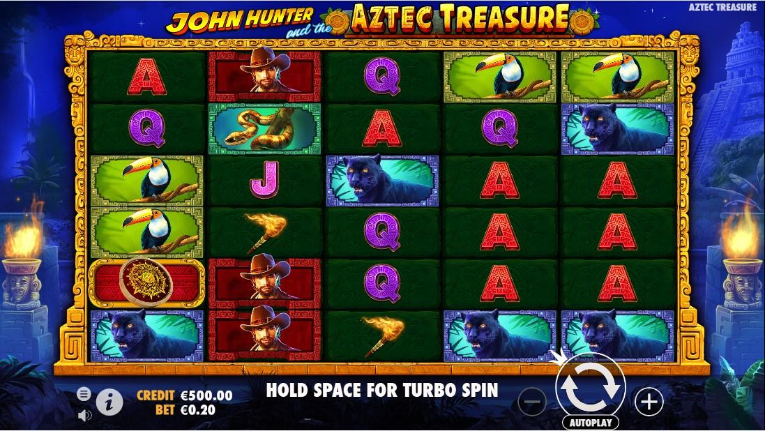 John Hunter and the Aztec Treasure бесплатный слот