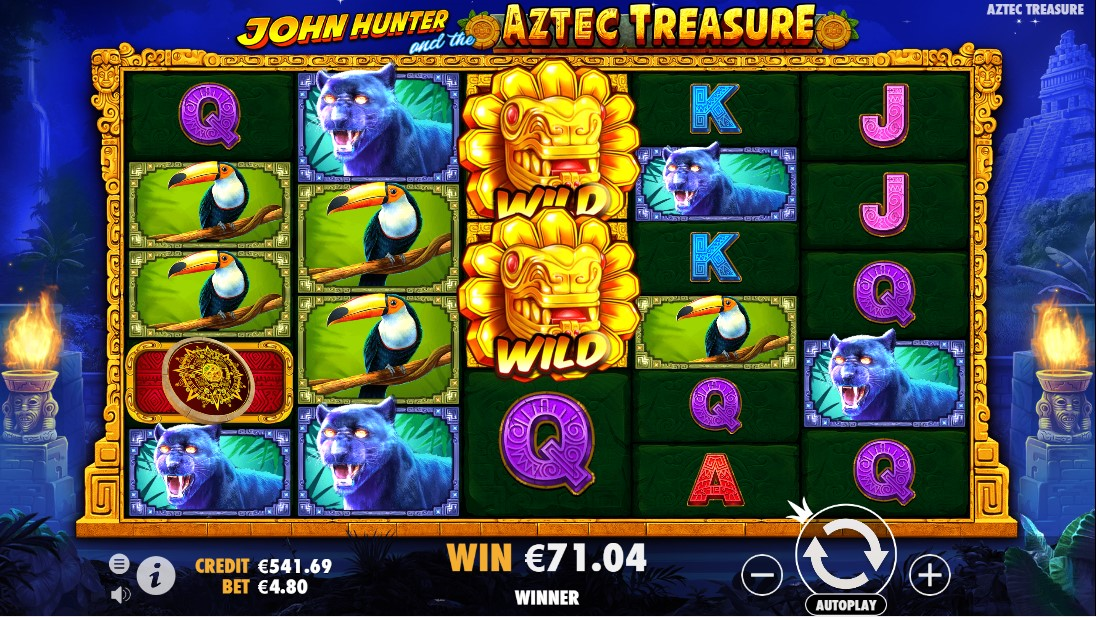 Слот John Hunter and the Aztec Treasure играть
