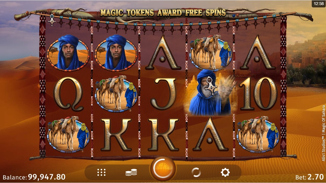 Magic of Sahara играть онлайн