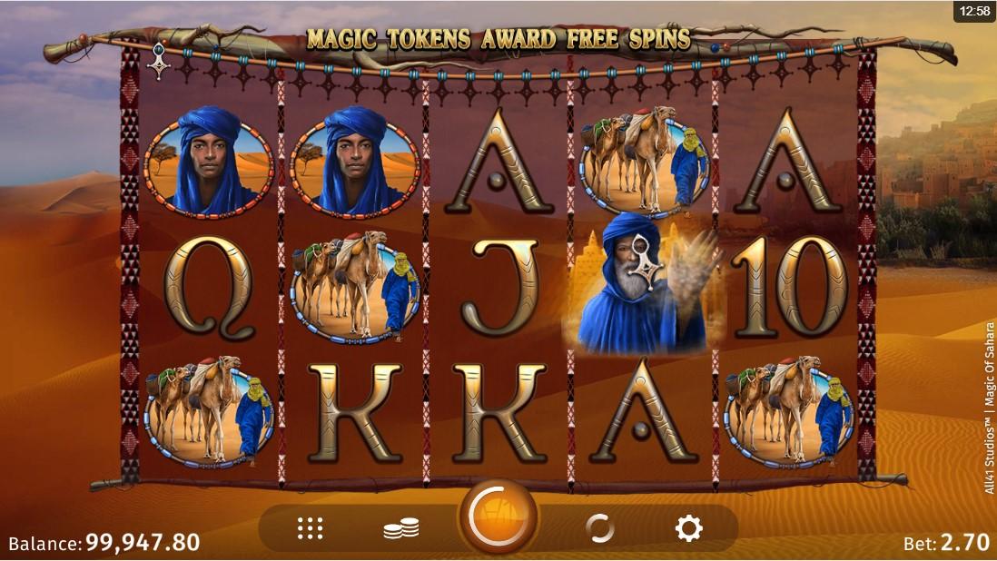 Magic of Sahara играть онлайн