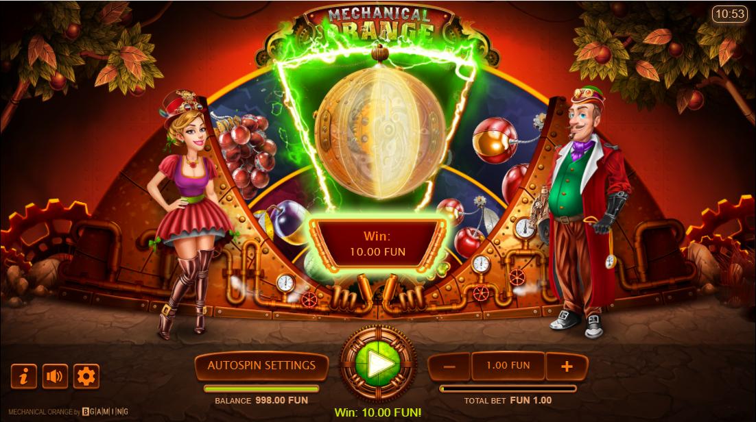 Игровой автомат Mechanical Orange