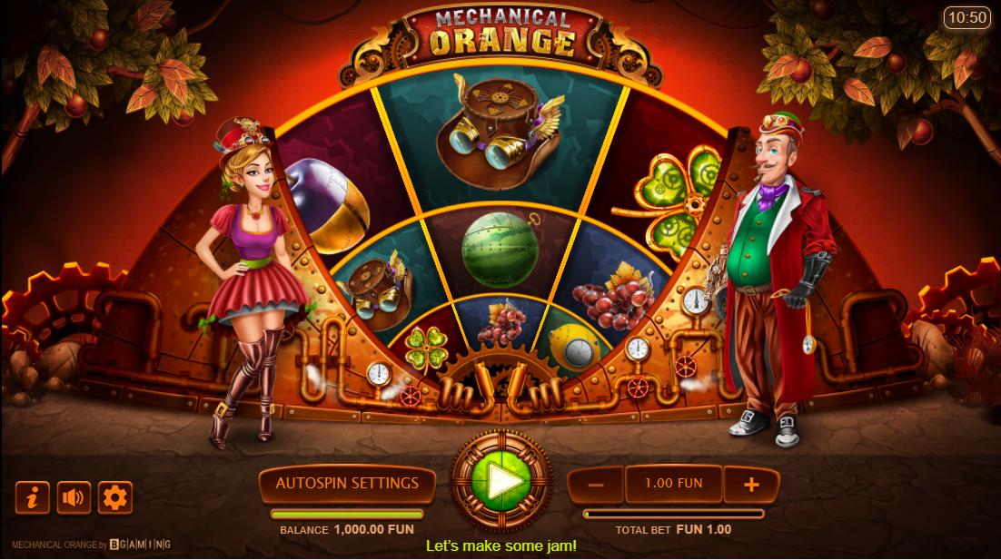 Слот Mechanical Orange играть бесплатно