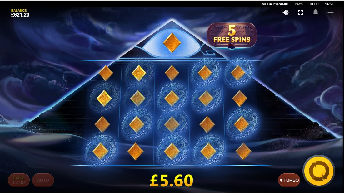 Игровой автомат Mega Pyramid