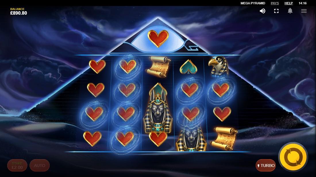 Слот Mega Pyramid играть