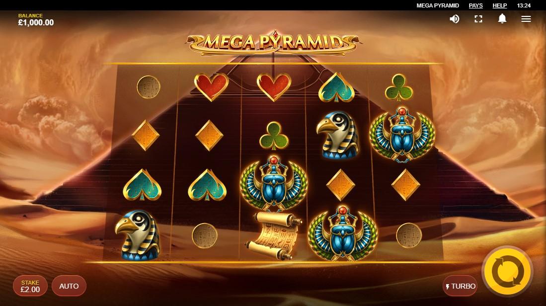 Бесплатный игровой автомат Mega Pyramid