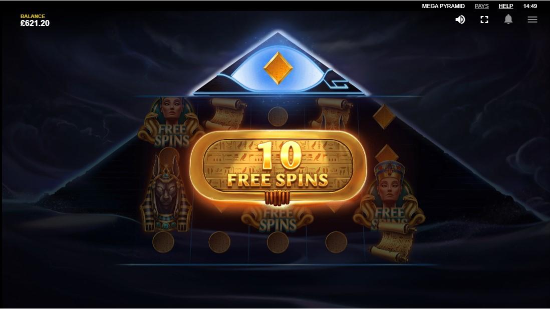 Mega Pyramid игровой автомат