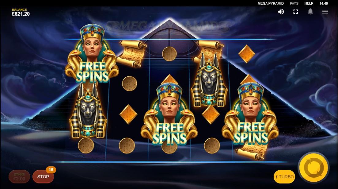 Mega Pyramid онлайн слот