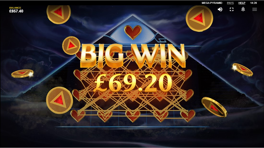 Онлайн слот Mega Pyramid