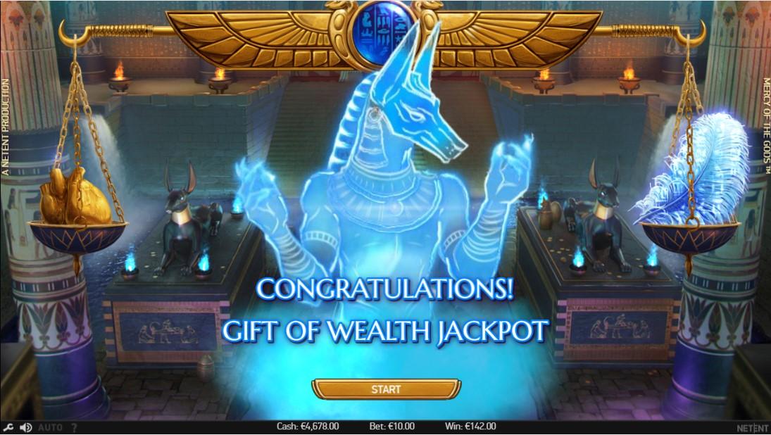 Mercy of the Gods бесплатный игровой автомат