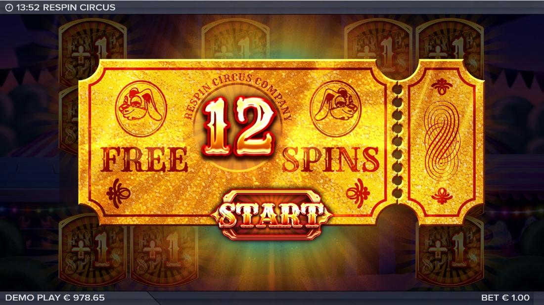 Игровой автомат Respin Circus