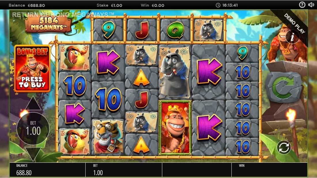 Слот Return of Kong Megaways играть