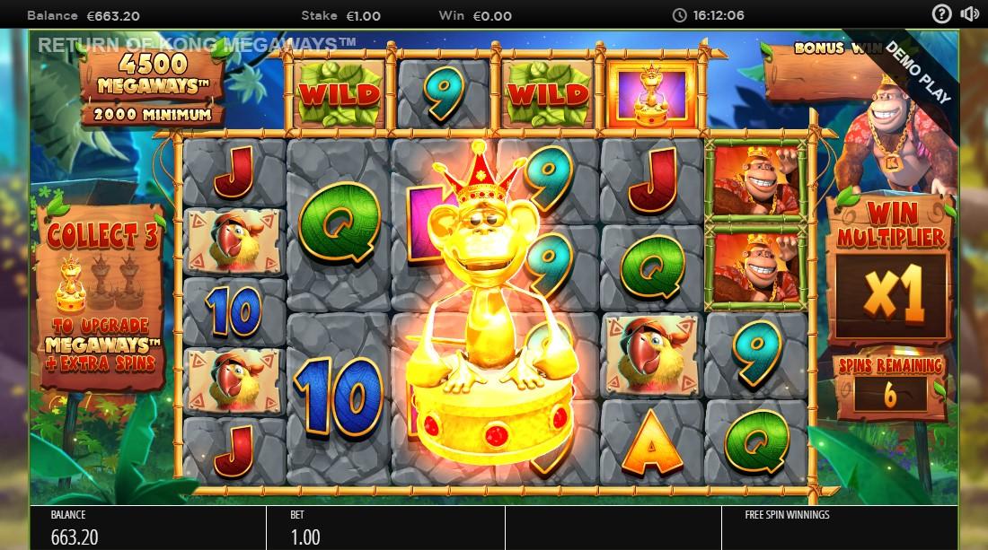 Return of Kong Megaways игровой автомат