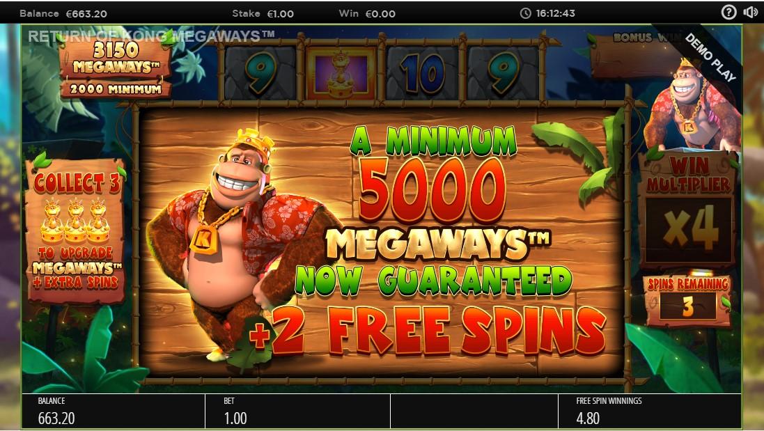 Return of Kong Megaways играть без регистрации