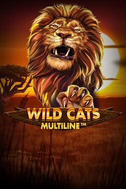 Играть Wild Cats Multiline онлайн