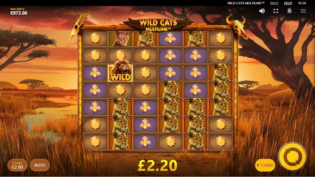Игровой автомат Wild Cats Multiline