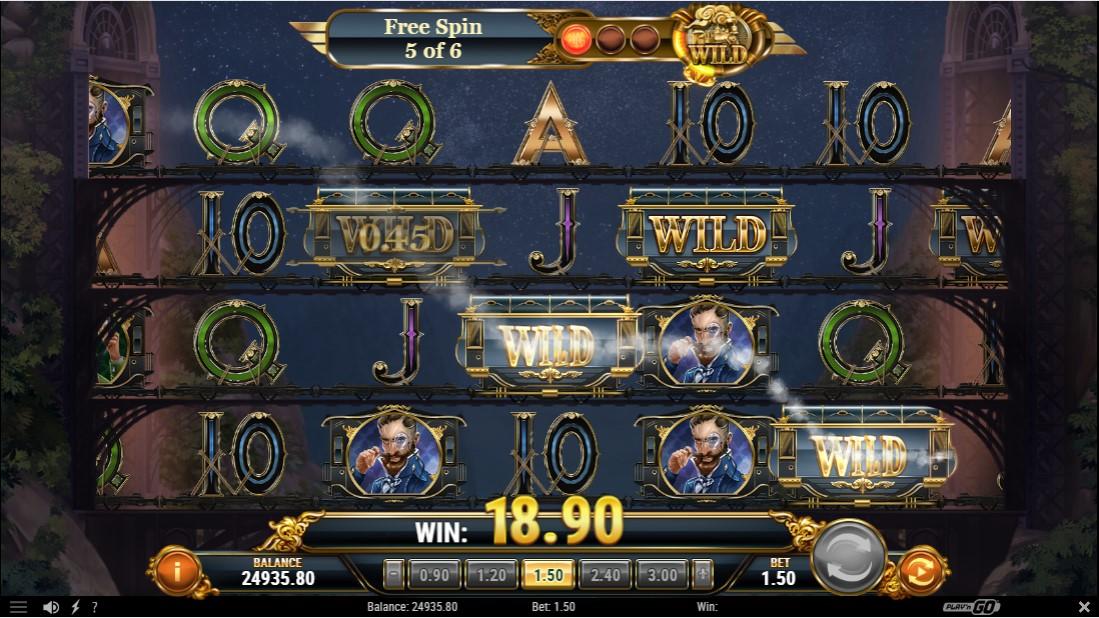Игровой автомат Wild Rails