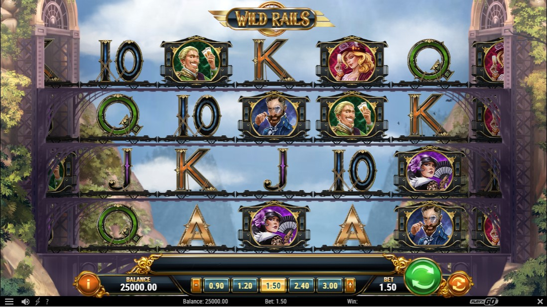 Wild Rails бесплатный игровой автомат