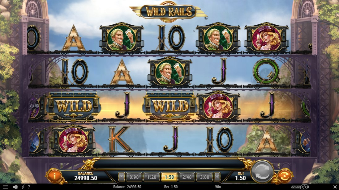 Слот Wild Rails играть
