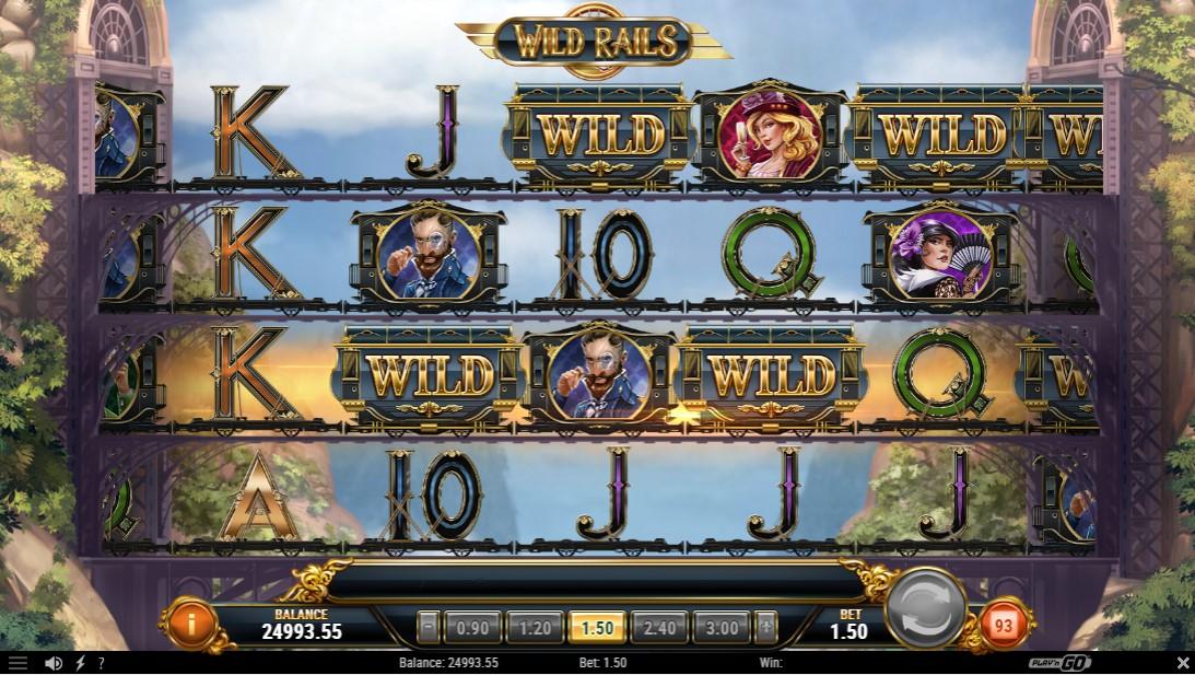 Wild Rails онлайн слот