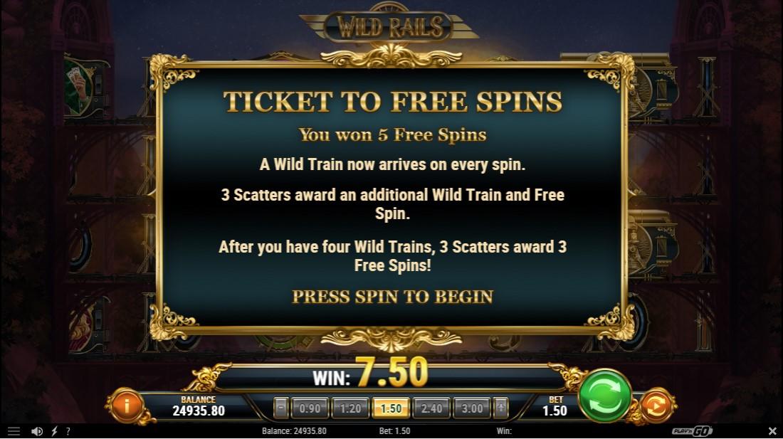 Wild Rails играть бесплатно