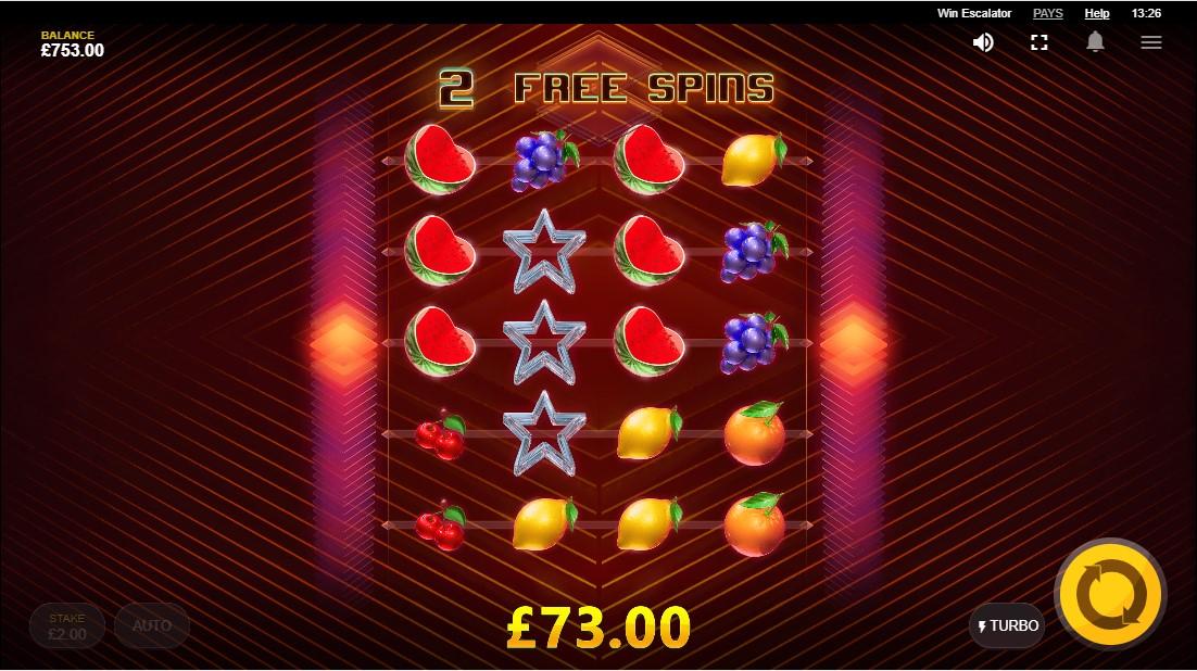 Бесплатный игровой автомат Win Escalator