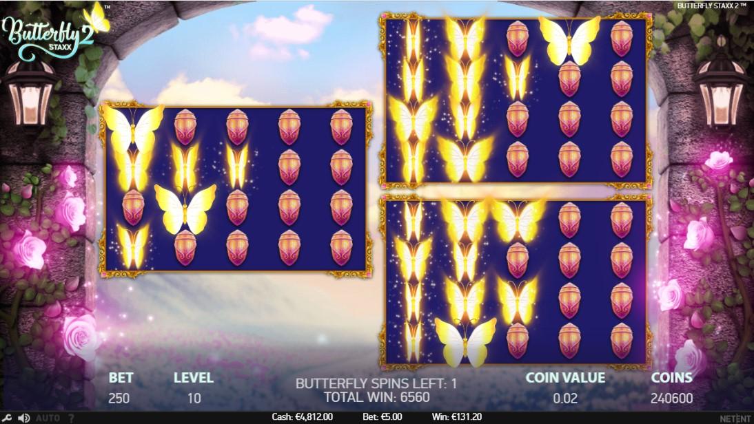 Играть онлайн Butterfly Staxx 2