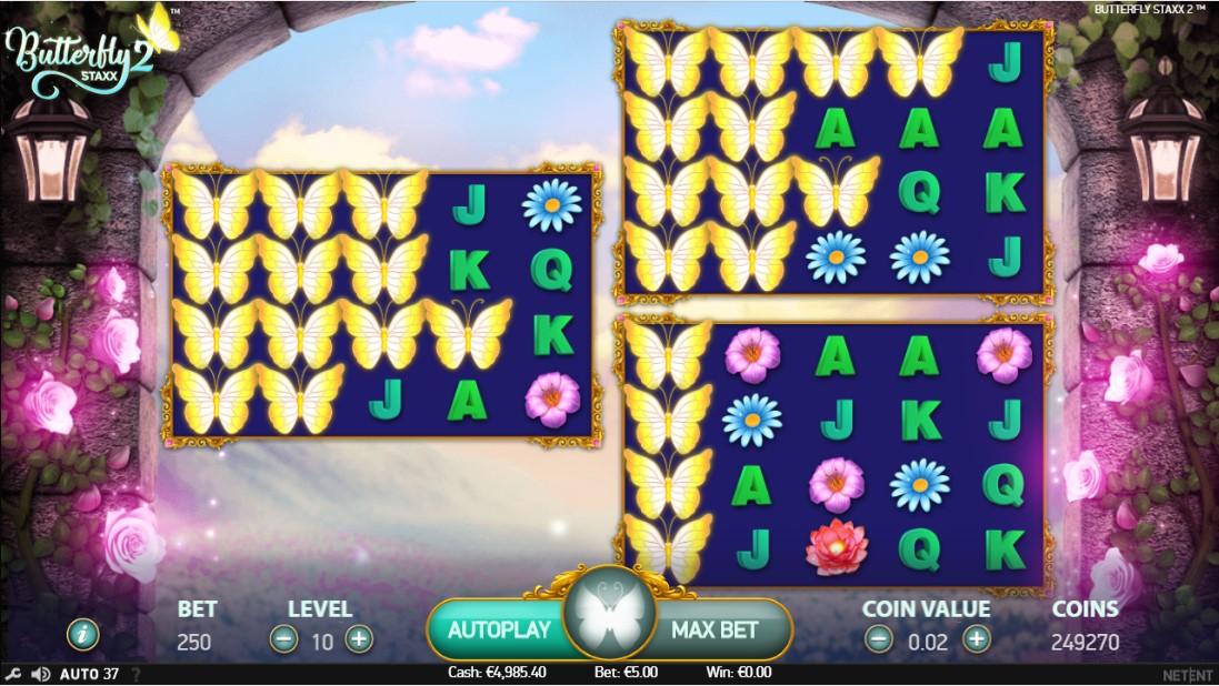 Слот Butterfly Staxx 2 играть