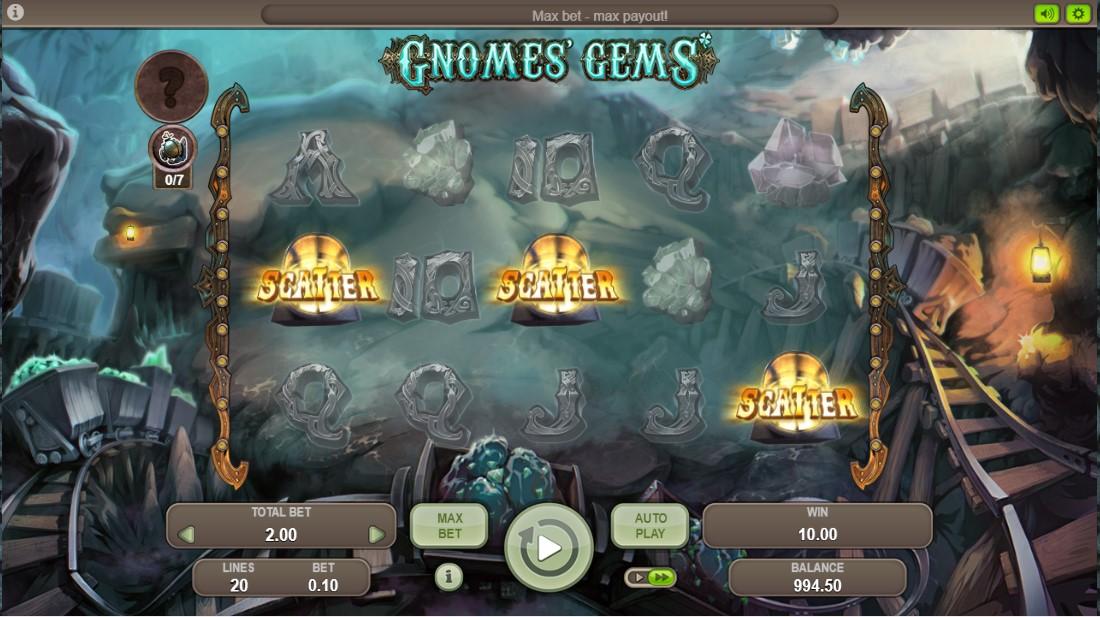 Бесплатный слот Gnomes' Gems