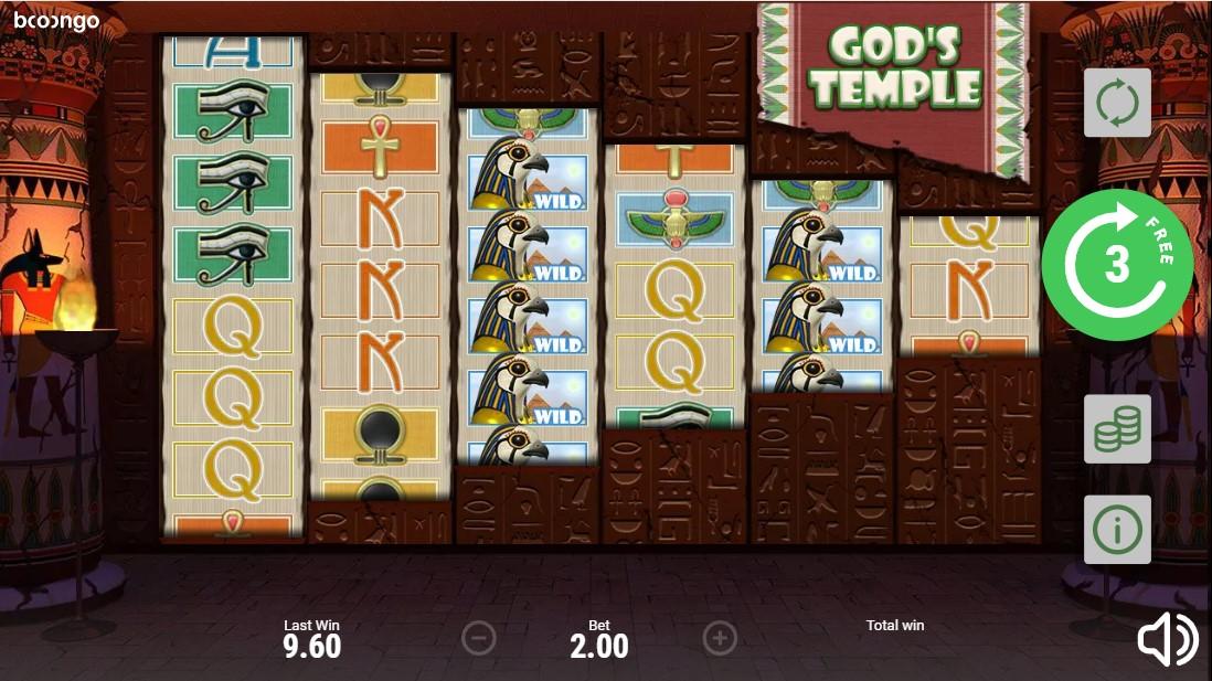 Игровой автомат God's Temple