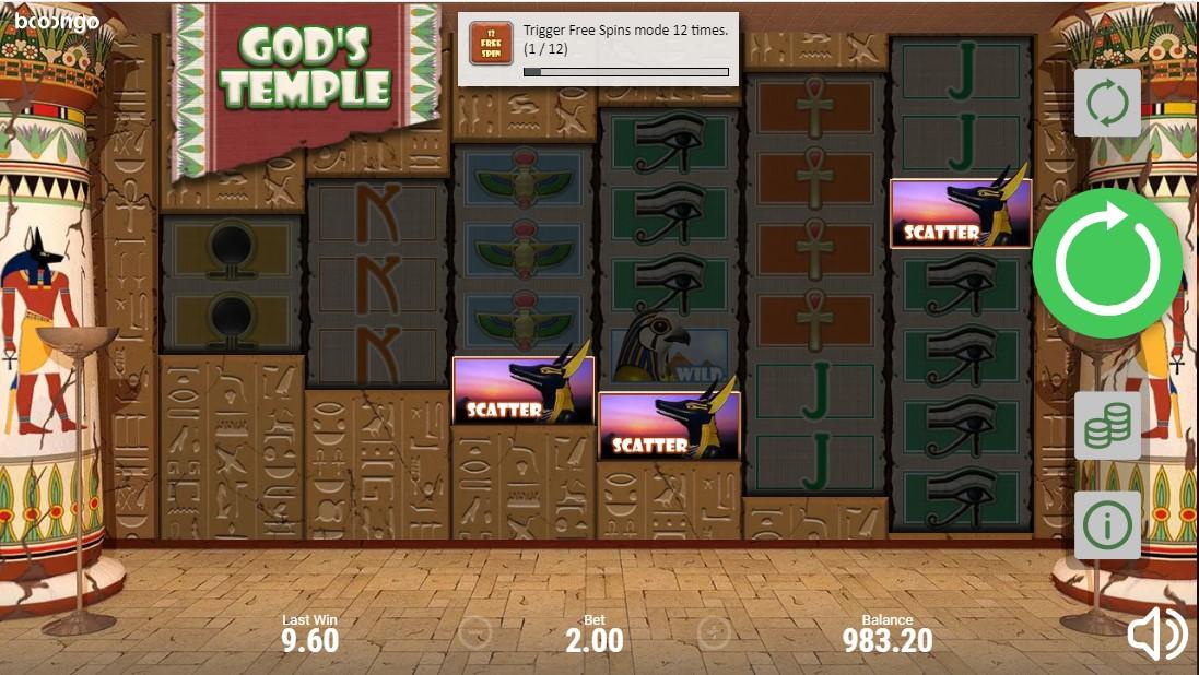 God's Temple играть онлайн