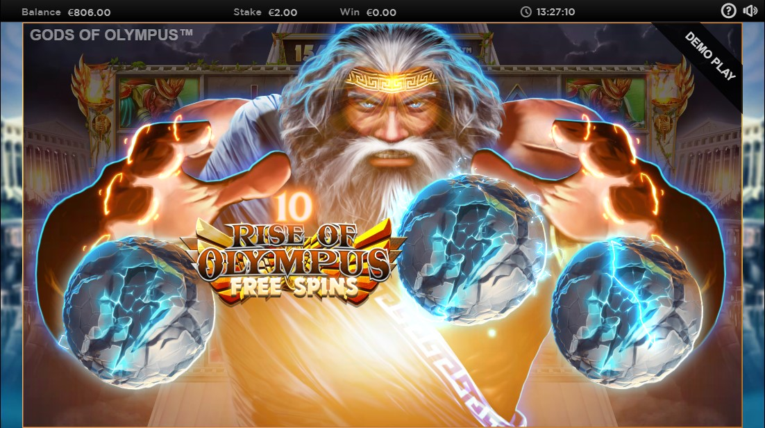 Gods of Olympus Megaways бесплатный слот