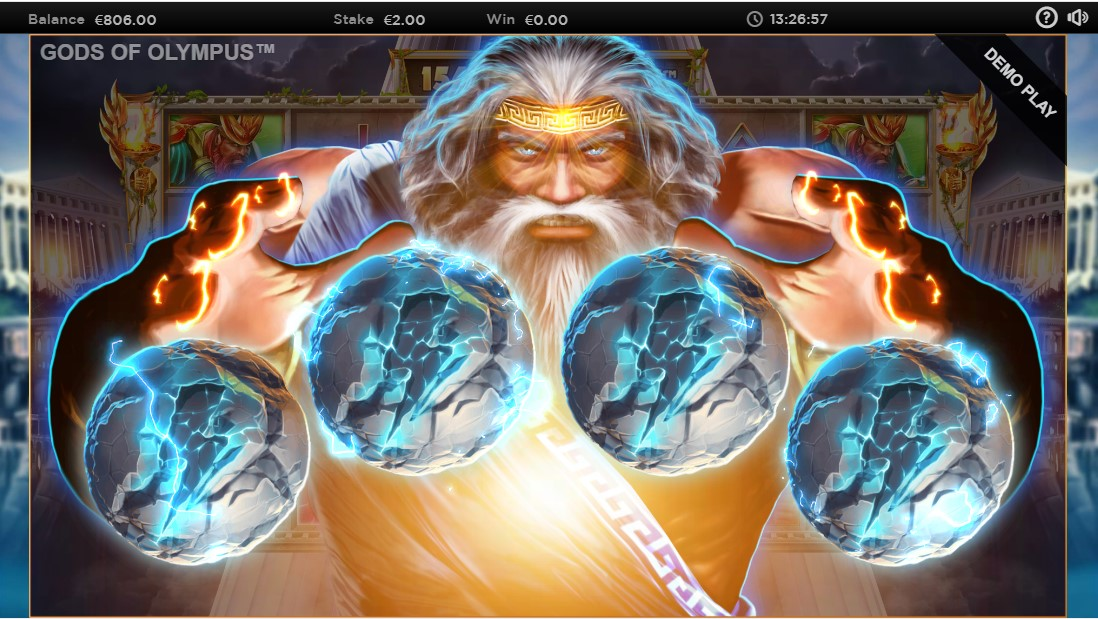 Играть бесплатно Gods of Olympus Megaways