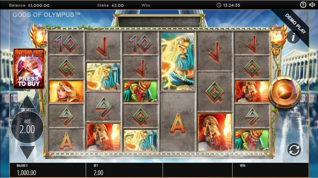 Gods of Olympus Megaways играть онлайн