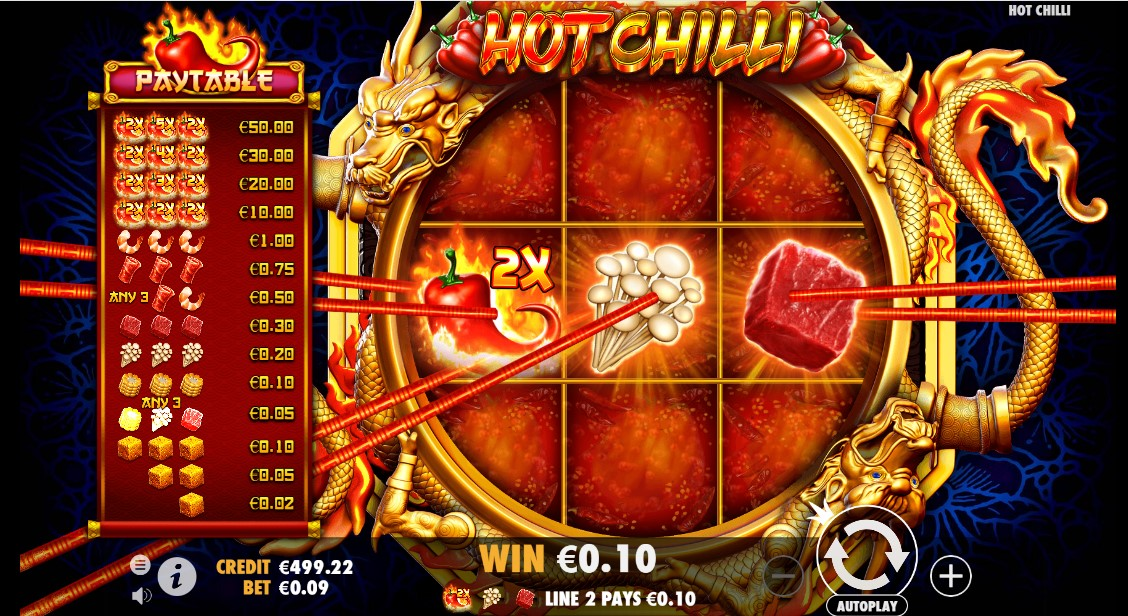 Hot Chilli играть бесплатно