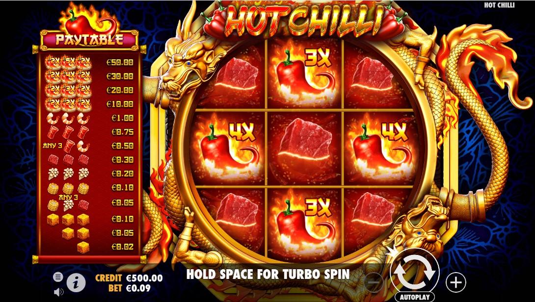 Онлайн слот Hot Chilli