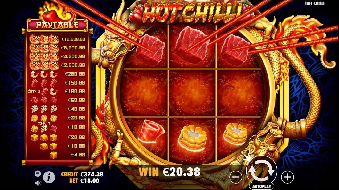 Бесплатный слот Hot Chilli