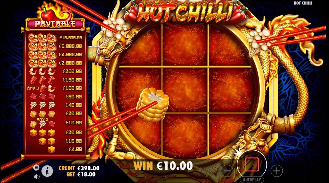 Игровой автомат Hot Chilli