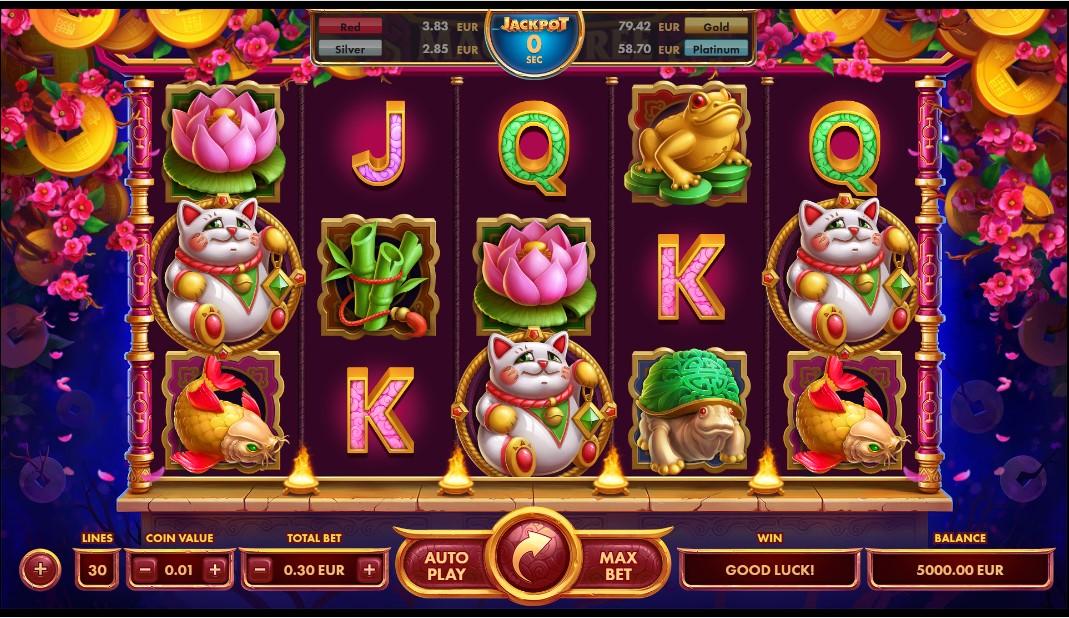 Онлайн игровой автомат Magic Tree