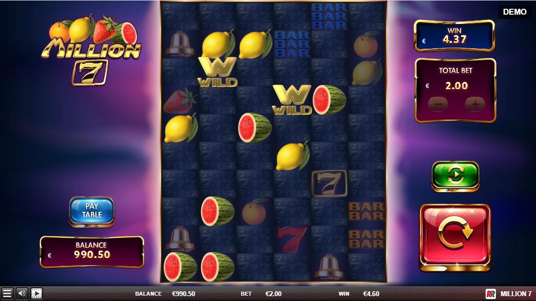 Игровой автомат Million 7
