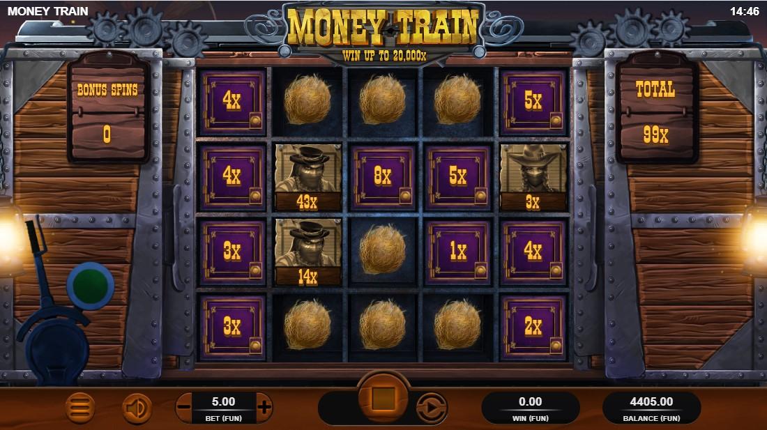 Онлайн слот Money Train