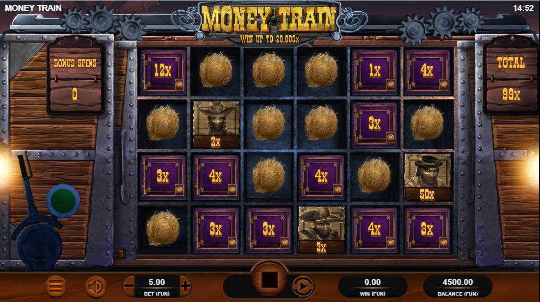 Играть бесплатно Money Train
